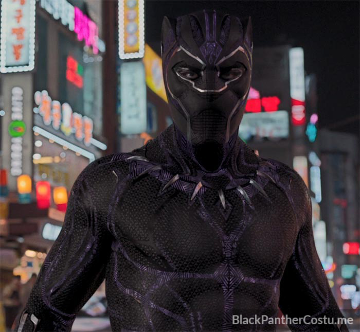 fed15a8e T'Challa - The Black Panther - Black Panther Costume Info